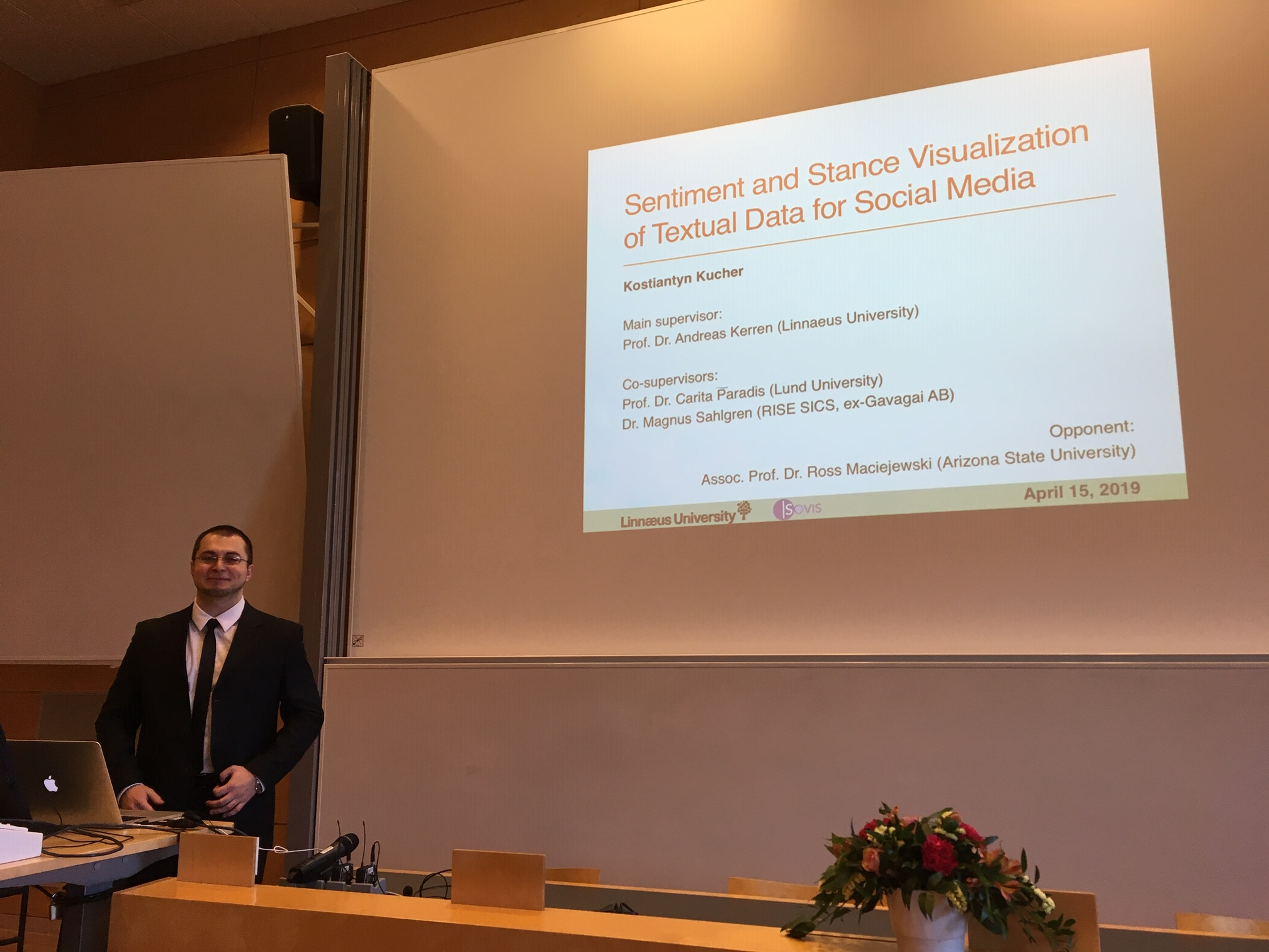 Kostiantyn Kucher's PhD Defense