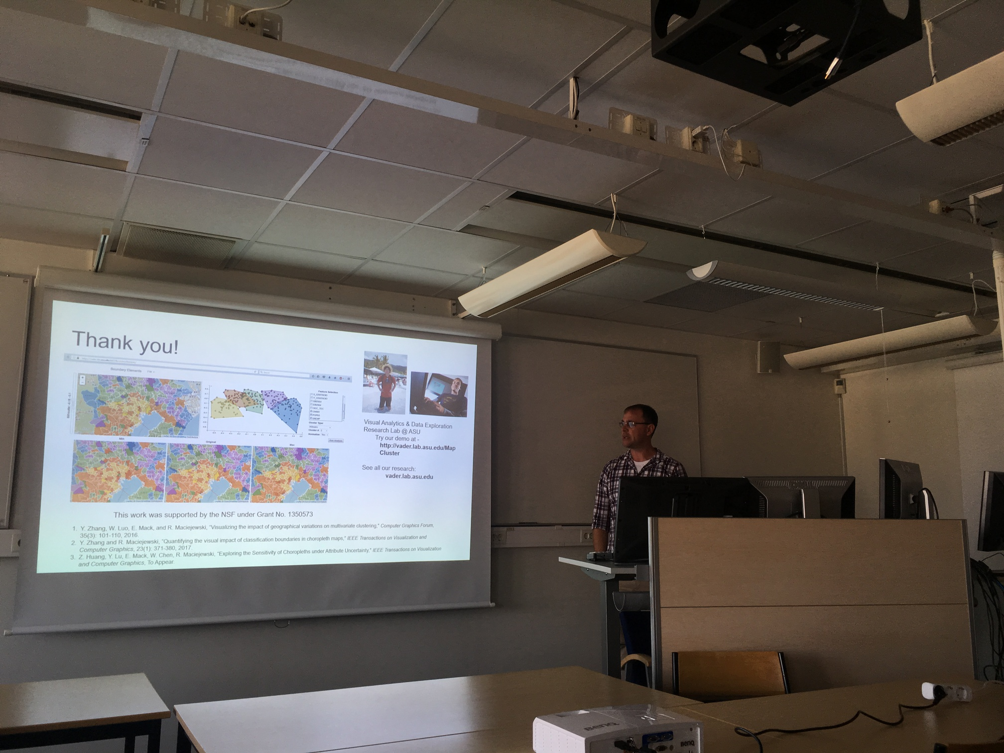 Ross Maciejewski's talk at LNU in April 2019